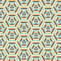Geometric Hexagon Pattern background