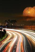 Beppu of fireworks