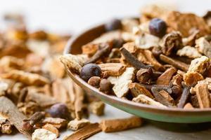Spices for vin brule