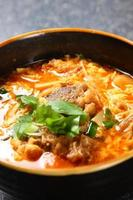 Korean soup photo
