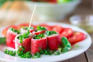 Crabstick Veggie Roll - Fish Tofu Filling