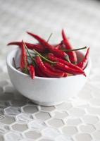 Bowl of chilli pepper