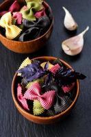 Farfalle pasta photo