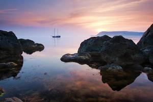 Tranquil landscape photo
