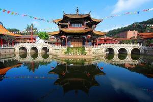 templo de yuantong kunming foto
