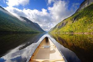 passeio de canoa
