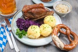 Bavarian meal photo