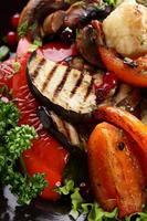 roaster vegetables photo