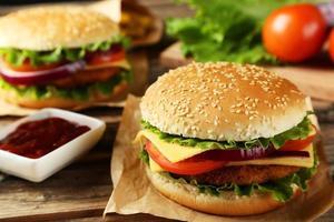 hamburguesa fresca