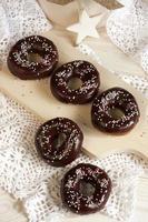 Fresh donuts photo
