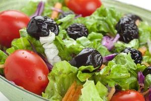 salad and olive photo
