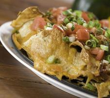 nachos with cheese photo