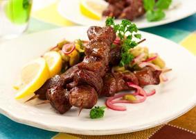 Kebabs de cordero