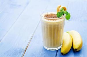 banana milkshake photo