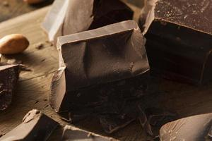 Organic Dark Chocolate Chunks photo