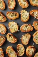 Garlic Bread Closeup photo