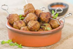 Albondigas de barbecue