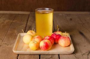 apple juice photo
