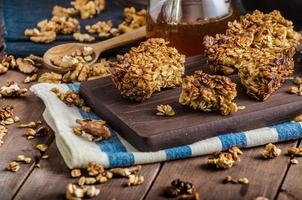 Baked granola photo