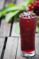 Grape juice photo