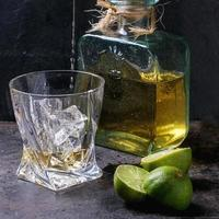 Tequila and limes photo