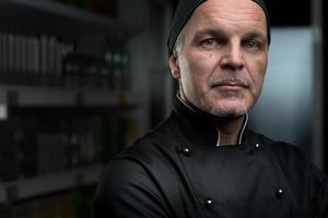 retrato de chef foto