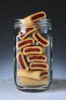 Fruit Bars in Glass Jar
