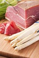 asperges met ham