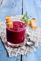 The beet soup photo