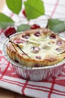 Clafoutis with sour cherry