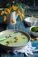 Broccoli soup puree