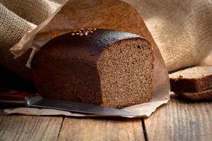 Bread rye photo