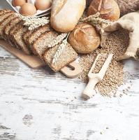 variedad de pan foto