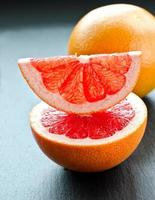 Fresh juicy grapefruit