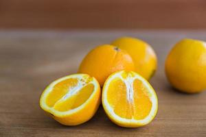 fruits mûrs, orange mûre