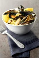 Mussels And Linguine II