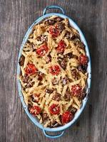 rustic italian baked penne pasta