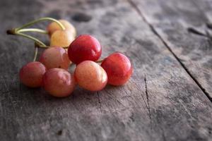 Rainier cherries photo