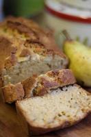 pan de pera y jengibre foto