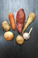 vegetais de raiz