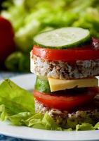 sandwich de dieta