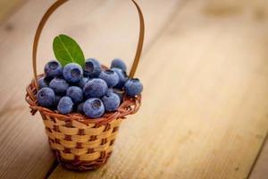 Blueberries photo