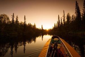 Kayak and River
