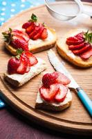 Summer breakfast photo