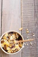Dry muesli mix photo