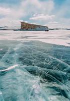 frozen winter Baikal