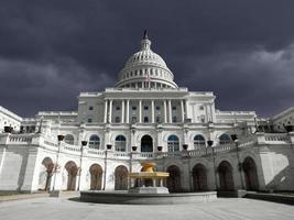 US Capitol Thunder Sky photo