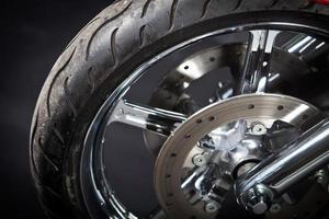 neumático de moto foto