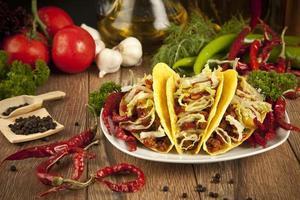Mexican food Taco photo