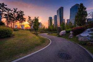 Songdo Central Park in Songdo